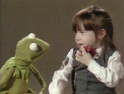 Kermit and Tracy recite alphabet