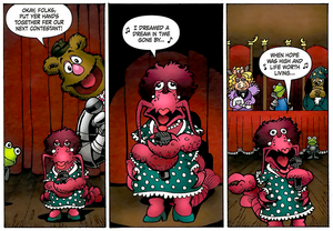 Muppet King Arthur - Susan Boyle