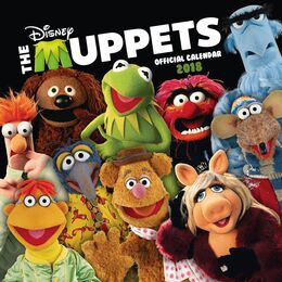 Muppets 2018 UK Calendar front