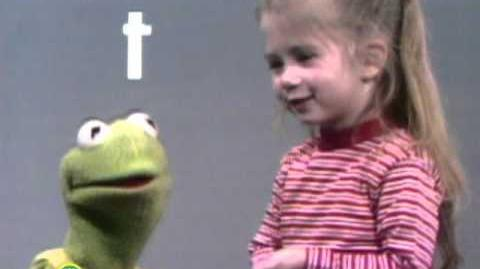 Sesame Street Kermit and Joey Say the Alphabet