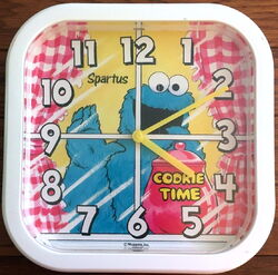Spartus cookie time clock