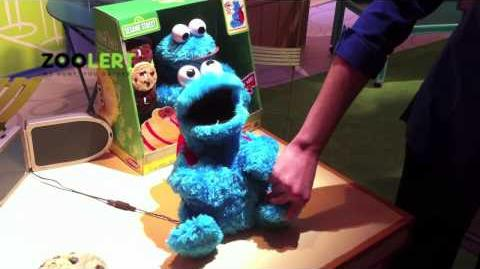 ZooLert - Count 'n Crunch Cookie Monster 2011 Toy Fair Demo