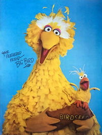 American publishing poster big bird 1978
