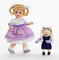 Miss piggy alexander doll