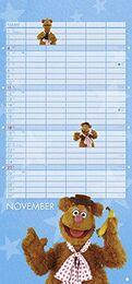 Muppets 2018 Kalender November