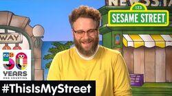 Sesame Street Memory Seth Rogan ThisIsMyStreet
