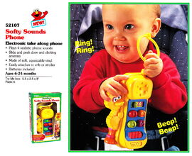 Tyco 1995 softy sounds phone