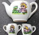 Muppet Babies tea set (Enesco)