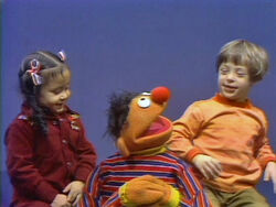 Ernie and kids clap