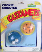 Lewco cookie monster castanets 2