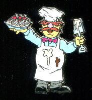 Pin trader chef