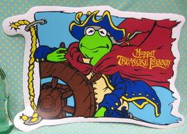 Selandia kermit muppet treasure island placemat