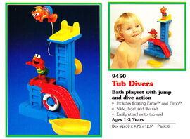 Tyco 1995 tub divers