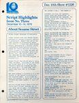 CTW Archives UMD Script Highlights Season 11-12 1326