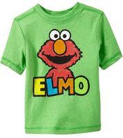 OldNavy2012ElmoGreenTshirt