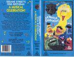 Sesame Street; 25 Wonderful Years Australian Golden Press Video VHS