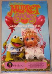 Muppet babies colorforms 1984 set 1