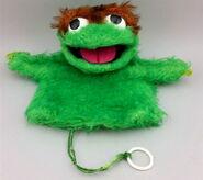 Topper 1972 oscar hand puppet 1
