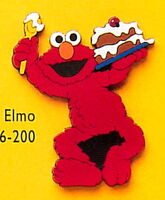 Applause 1994 magnets sesame vinyl elmo
