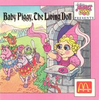Baby piggy, the living doll