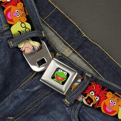 Buckle-down belt muppets faces 2