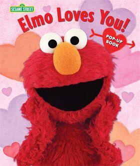 Elmo loves you pop up