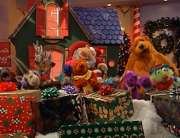 thats all i want for christmas - Bear Inthe Big Blue House Christmas
