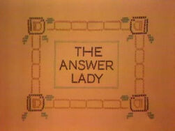 AnswerLady