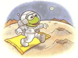 Baby Kermit's Magic Blanket Ride