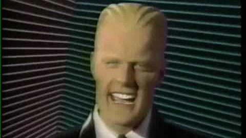 Max Headroom on Sesame Street