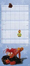 Muppets 2018 Kalender February