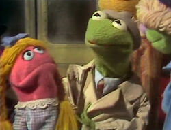 Reporter Kermit Subway