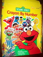 Roseart 1998 sesame crayon by number crafts kit 1