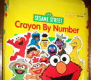 Sesame Street Crayon By Number (RoseArt)