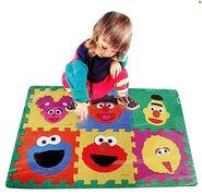 Sesame Street Make-A-Face Foam Floor Puzzle