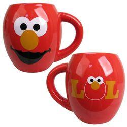 Vandor elmo oval ceramic mug