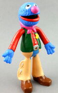 Applause 1992 grover pvc bendable figure