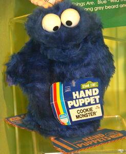 Gabriel child guidance 1980 hand puppet cookie monster