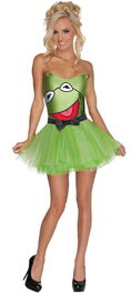 Rubies 2012 halloween costume woman kermit