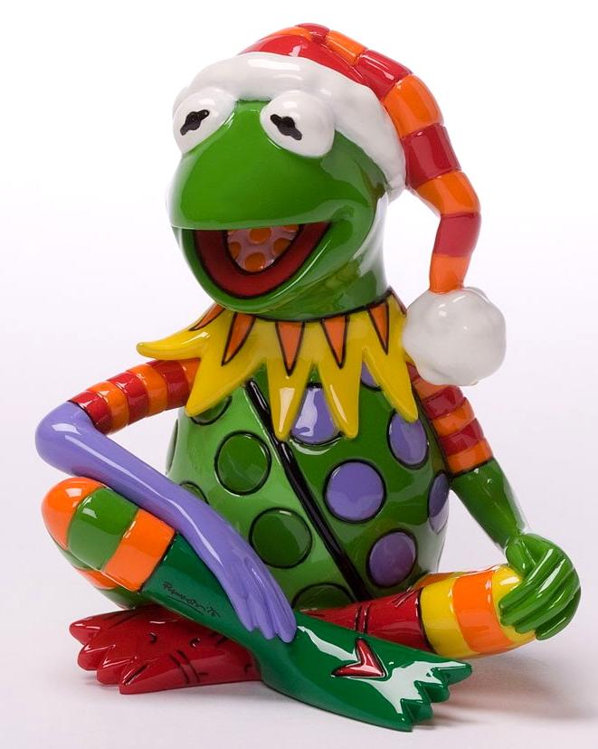 Image - Britto christmas kermit 1.jpg | Muppet Wiki | FANDOM powered ...