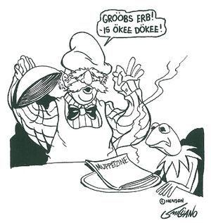 MuppetZine-Chef