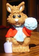 Muppetvision 3D pvc figure set bean bunny