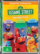 Sesame Street Essential Collection Alphabet 3 Pack DVD 3D R-112279-9