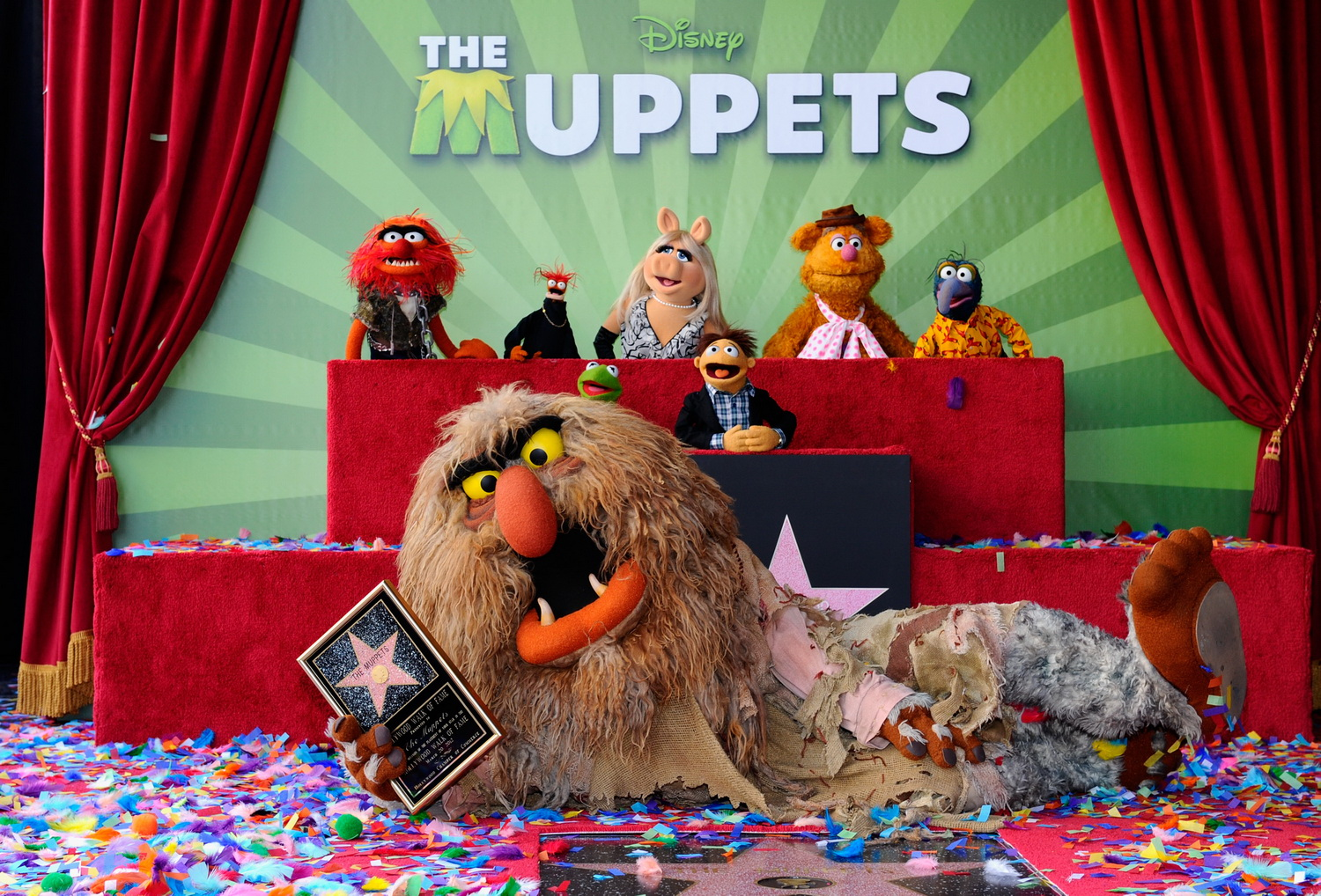 The Hollywood Walk Of Fame Muppet Wiki Fandom Powered