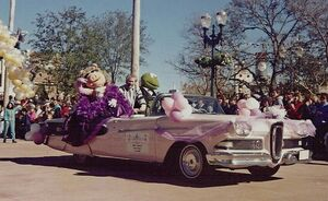 Jim Henson Disney parade