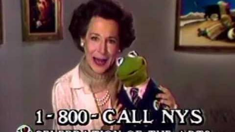 Kermit loves NY