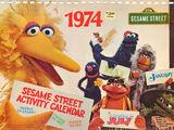 The Sesame Street 1974 Activity Calendar