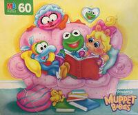 Muppet Babies Milton Bradley 60pc 1989