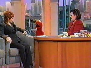 Reba McEntire on Rosie with Elmo