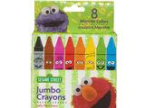 Sesame Street crayons (Elmer's)